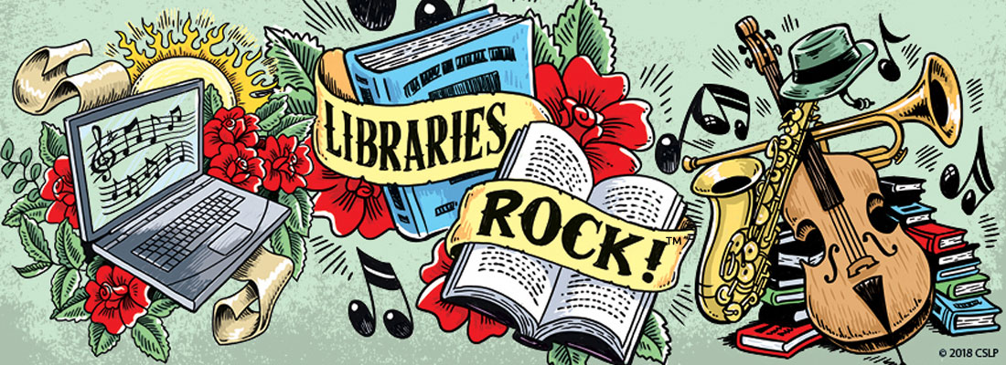 Image result for libraries rock clipart