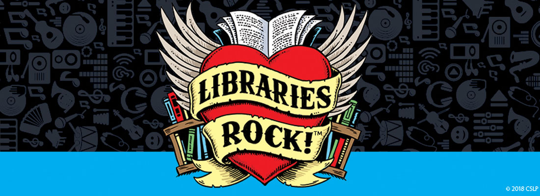 Image result for libraries rock banner